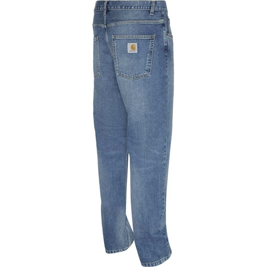 NEWEL PANT I024905 - Newel Pant - Jeans - Relaxed fit - BLUE WORN BLEACHED - 3